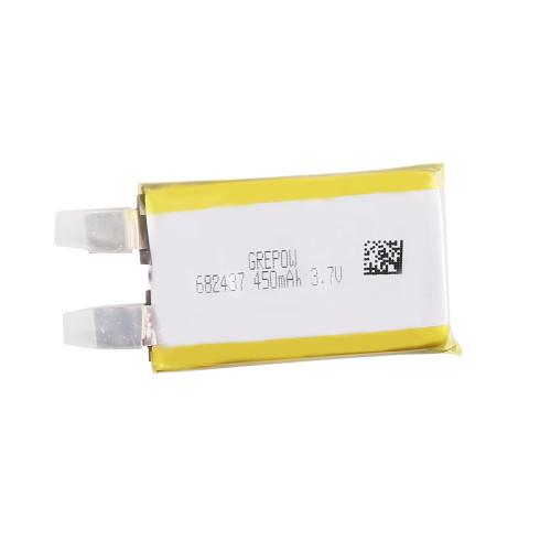 Grepow 3.7V 450mAh LiPo Rectangle Shaped Battery 6824037