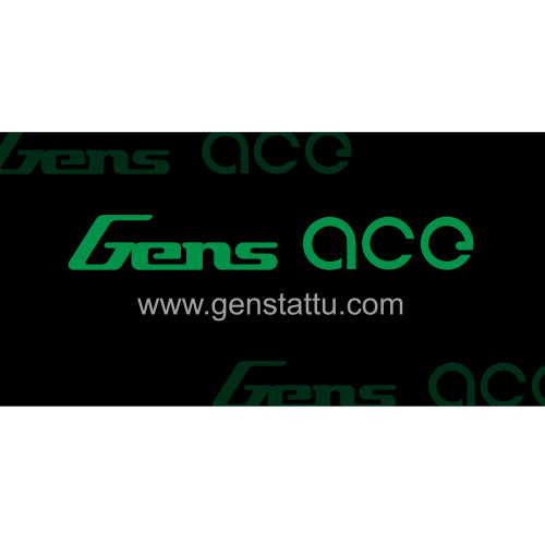 Gensace Banner Black and Green