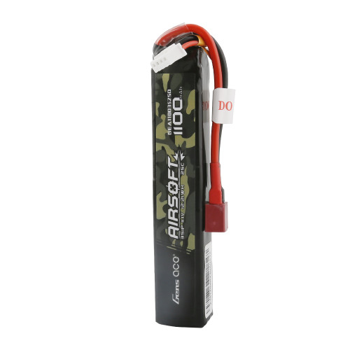 Gens ace 25C 1100mAh 3S1P 11.1V Airsoft Gun Battery with Deans Plug
