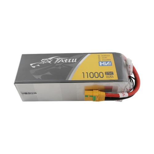 Tattu 22.8V 25C 6S 11000mAh Lipo Battery with XT90-S Plug for UAV