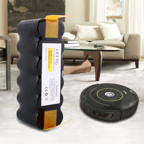 TATTU iRobot 4500 mAh XLife for iRobot Roomba R3 500