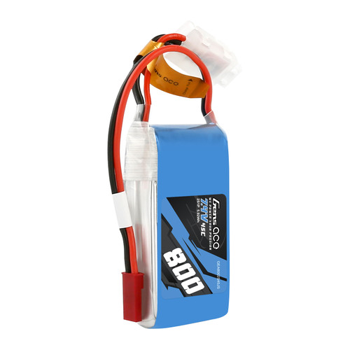 Gens ace 800mAh 2S 7.4V 45C Lipo Battery Pack with JST-SYP Plug