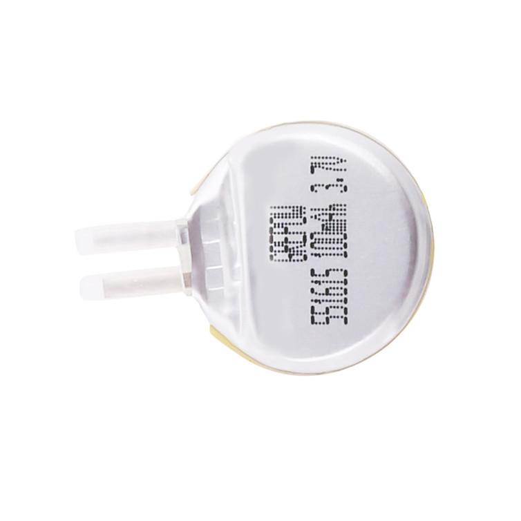 Grepow 3.7V 100mAh LiPo Round Shaped Battery 5516015