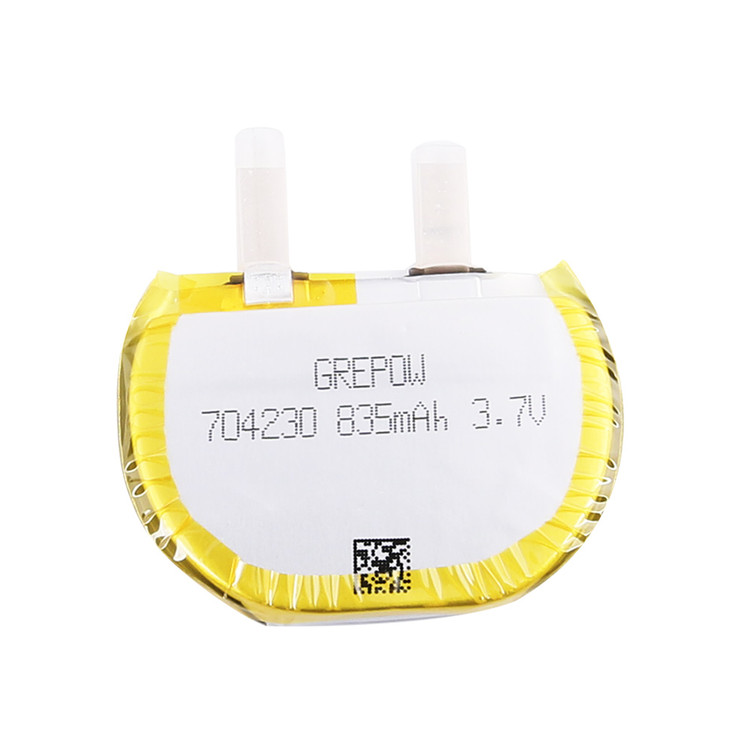 Grepow 3.7V 835mAh LiPo Round Shaped Battery 7042030