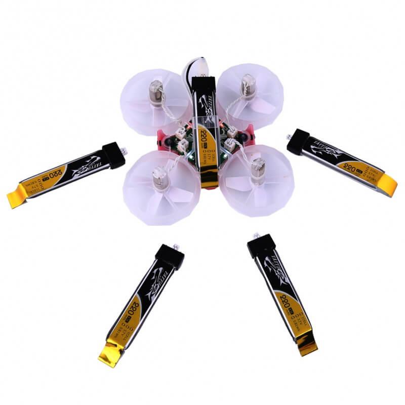 Tattu 220mAh 3.7V 45C Lipo Battery for Tiny Whoops Micro quadcopters