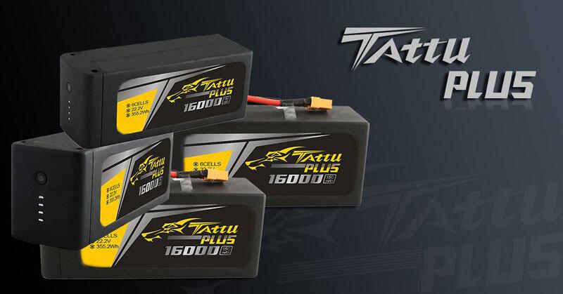 Tattu Plus Lipo battery