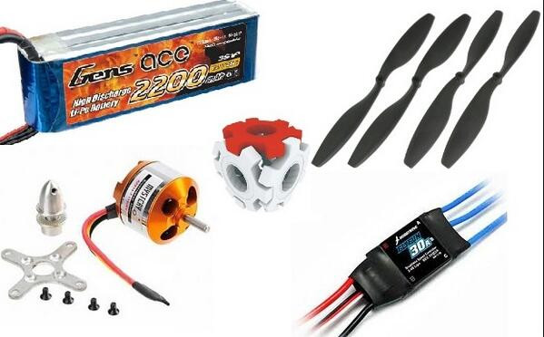 the relationship between ESC, Batteries and Motor