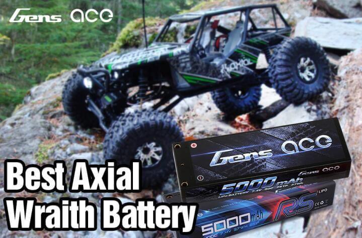 Axial Wraith battery