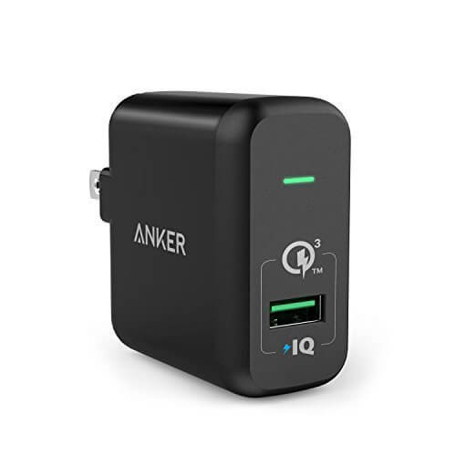 Anker 18W Fast USB Wall Charger PowerPort+ 1
