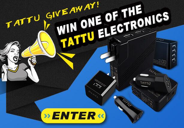 Tattu Electronic giveaway