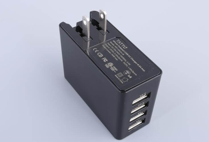 multi port wall charger