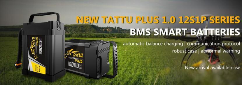 tattu plus 1.0 12S battery