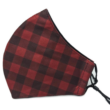 Buffalo Plaid Face Masks - 017