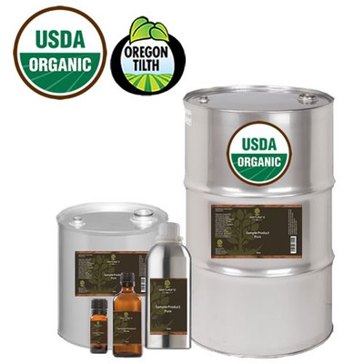 Basil Sweet Certified Organic Essential Oil Bulk Apothecary