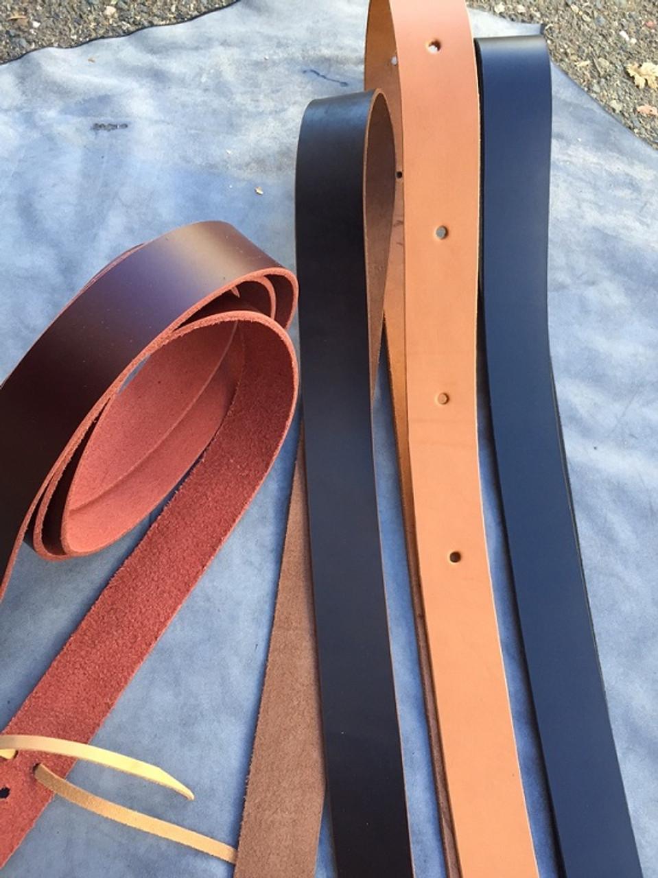 Buckaroo Leather Latigo Tie Strap