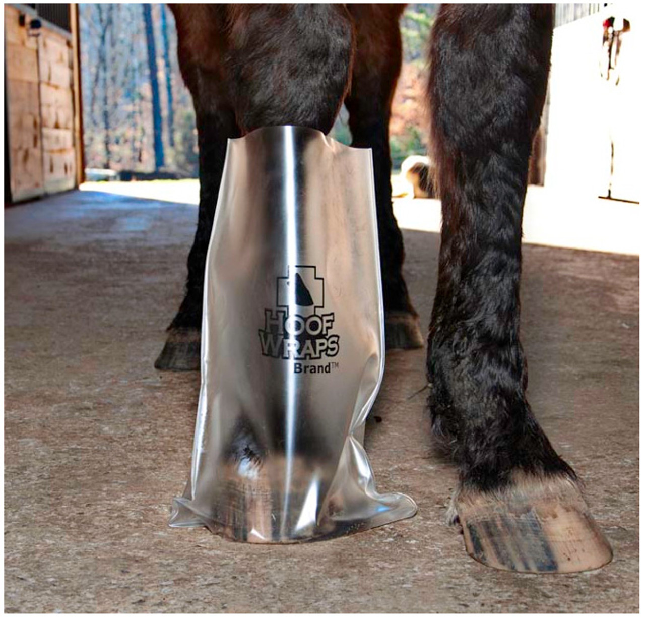 Easy Use Hoof Soaking Boot for Horse Soaker Bag Equine Soaking Boot Hooves Care