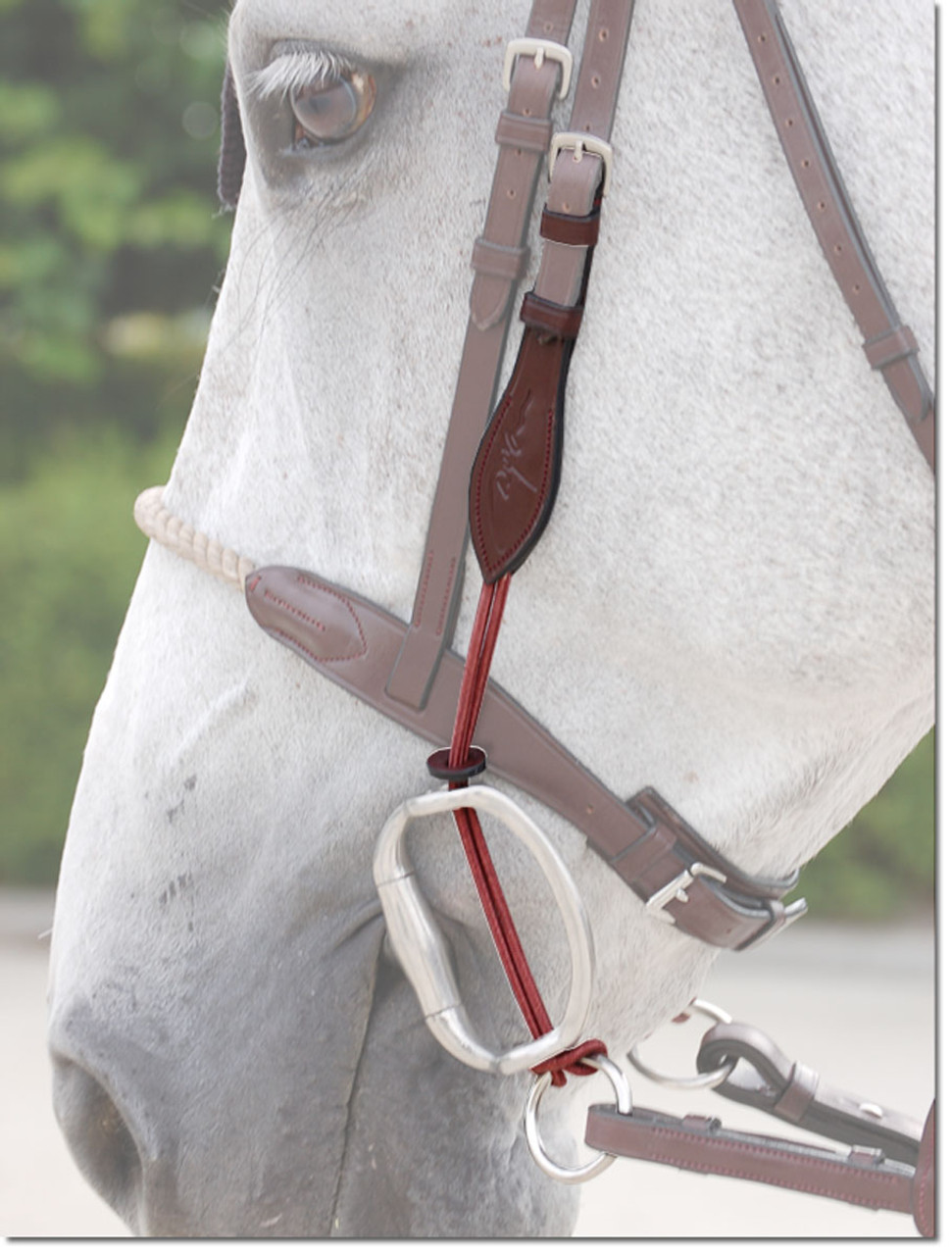 Brown Replacement PAIR of Cheek Pieces For English Horse Bridle New