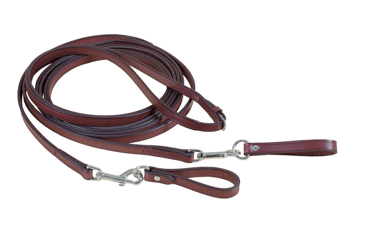 Tory Long Draw Reins Snap Loop Training Tack