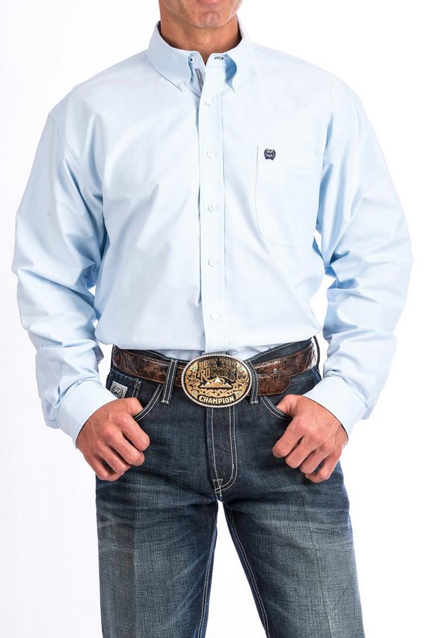 a4577fa3 Cinch Oxford Solid Shirt- Mens Western Wear
