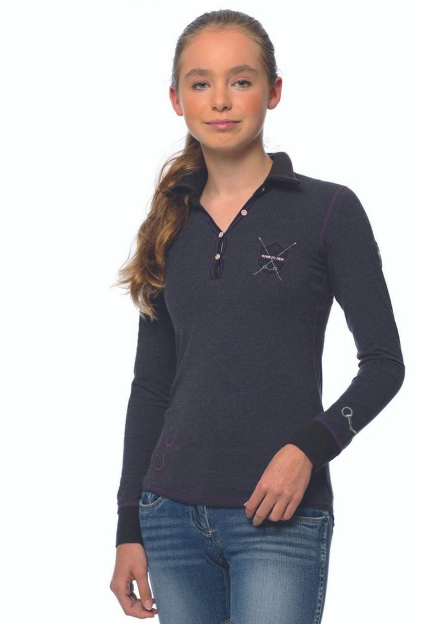 ac62f9fb6 Goode Rider Girls Goode Polo- Riding Shirts