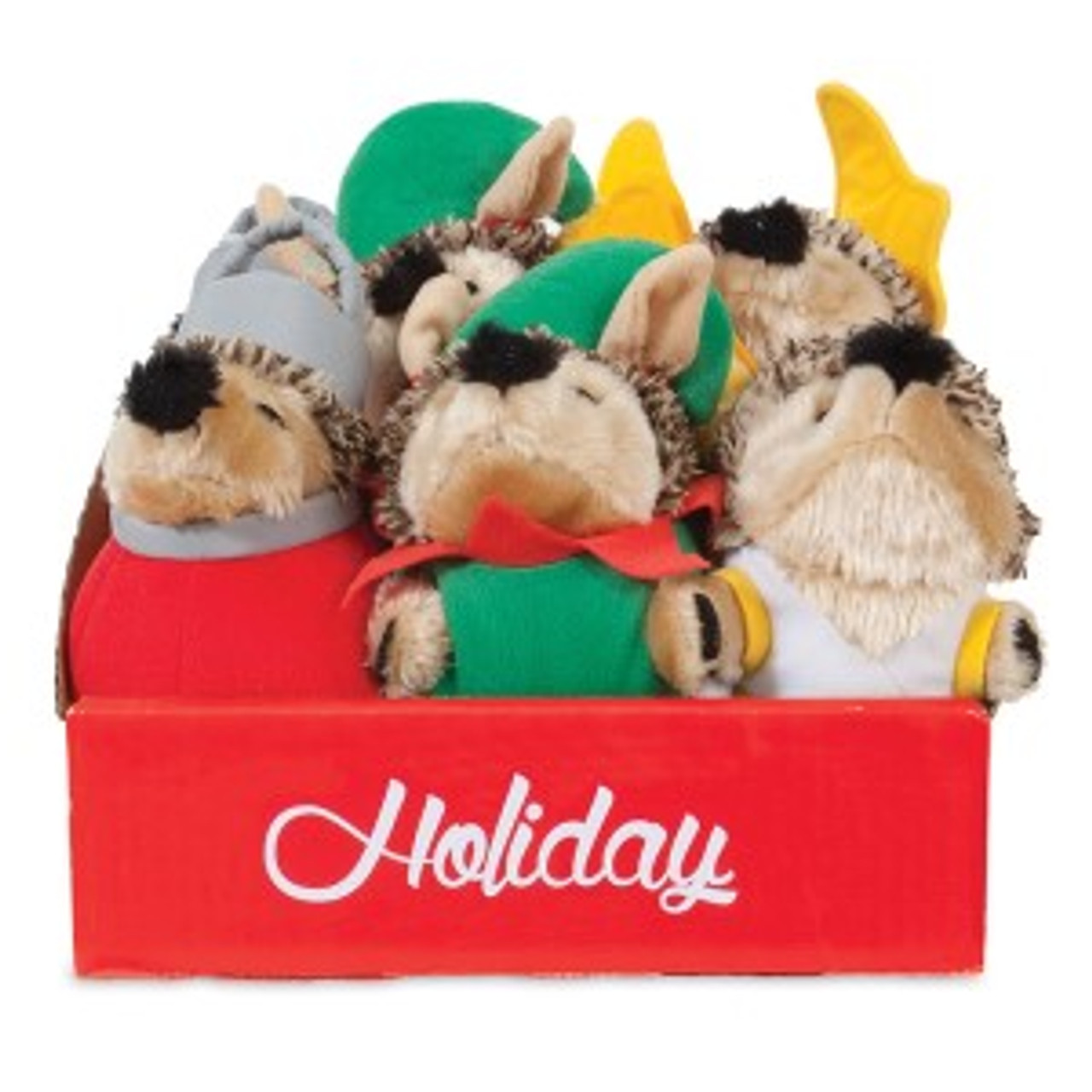 Petmate Grunting Hedgehog Dog Toys Little Red Heggie