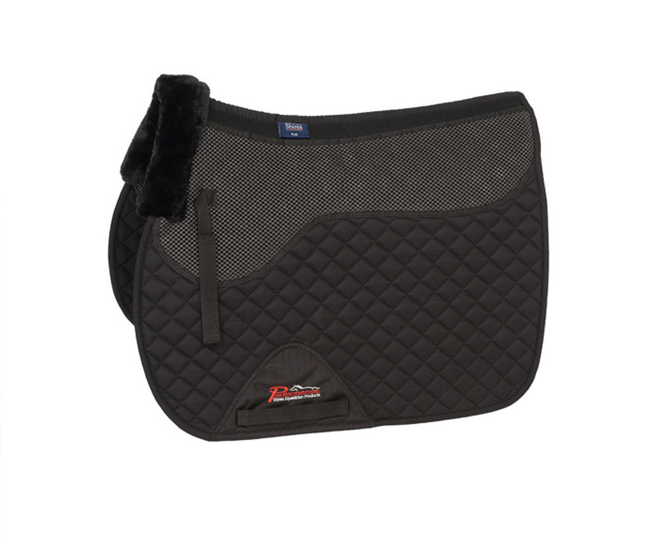 SHIRES PERFORMANCE HALF PAD ASSORTED COLOURS 5271