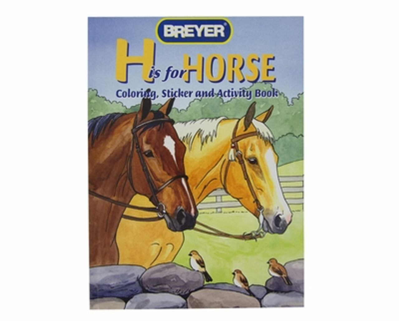 Breyer Horse Coloring Sticker Book Kids Gifts