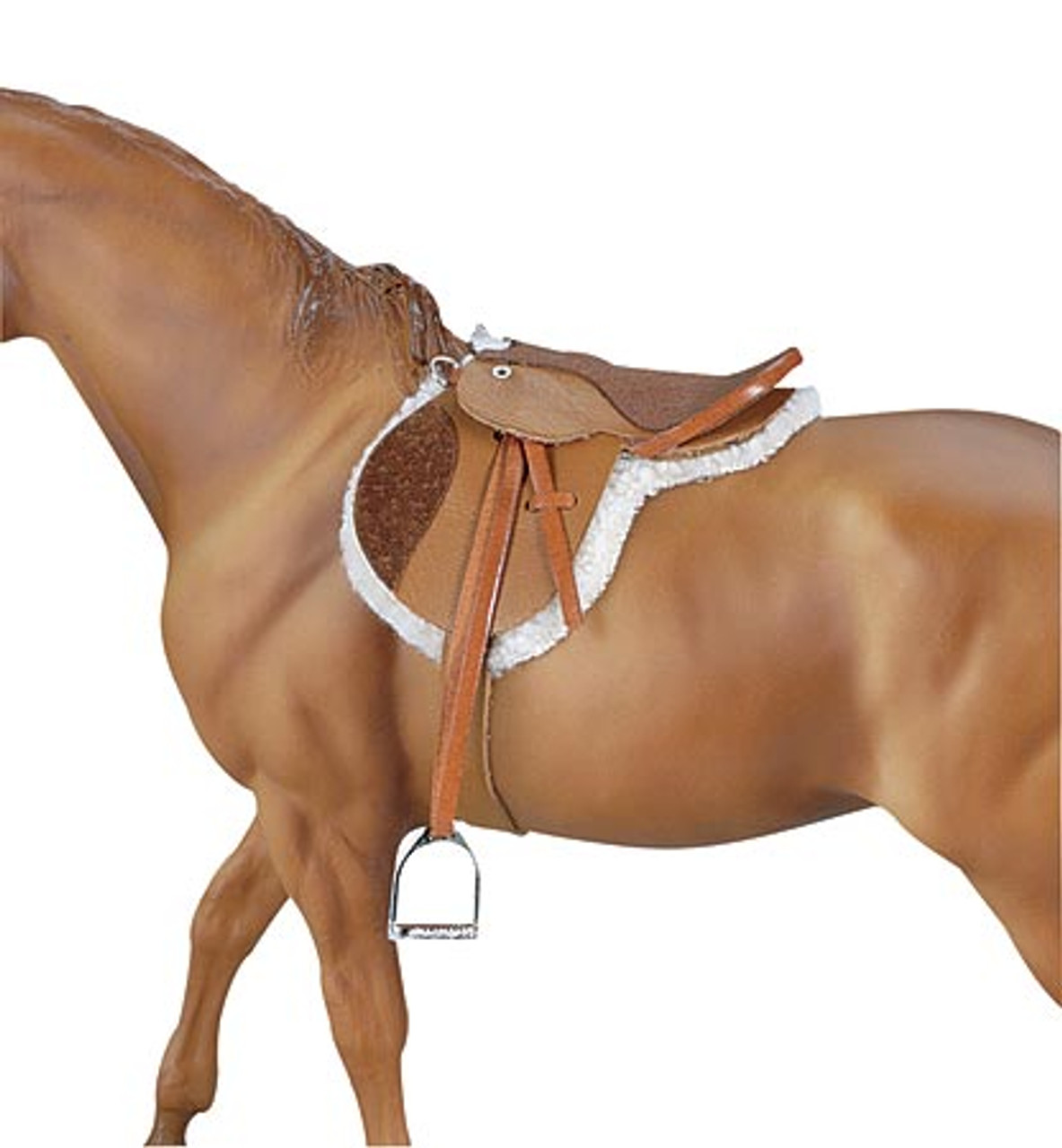 Breyer Devon English Hunter Saddle Model Horse Tack