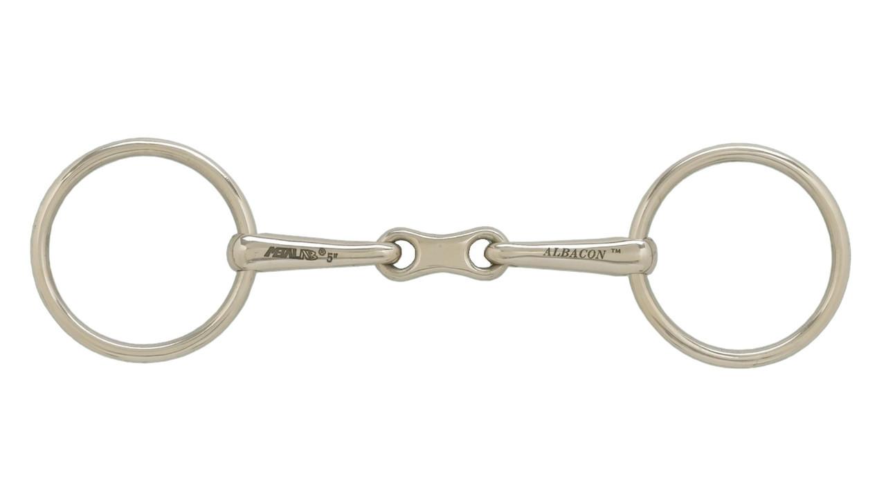 German Silver French Link Bradoon 13 mm