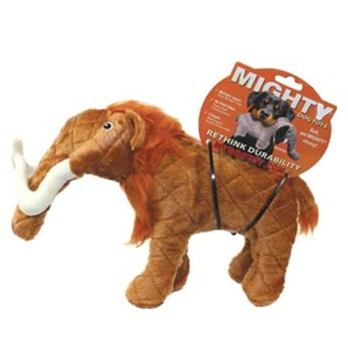 Mighty Woolly Mammoth Toy Squeaky Dog Toys