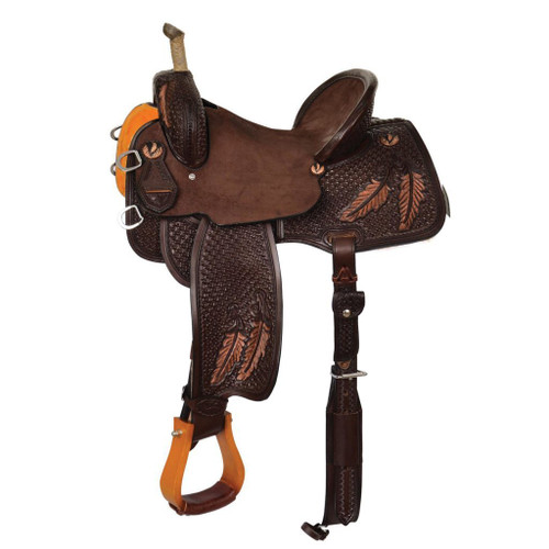 Saddle Stand Saddle Cleaner   walnut with silver trim