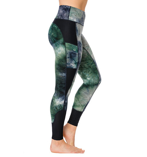 Shires Aubrion Jenner Womens Riding Tights Black