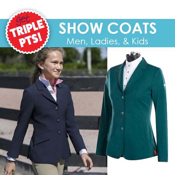 3X PTS on Show Coats!