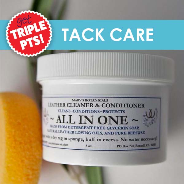 3X Pts on Tack Care!