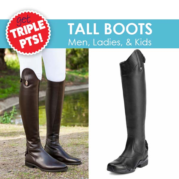 3X PTS on TALL BOOTS!