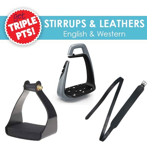 3x Pts on Stirrups & Leathers!