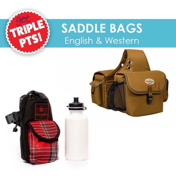 3X Pts on Saddle Bags!