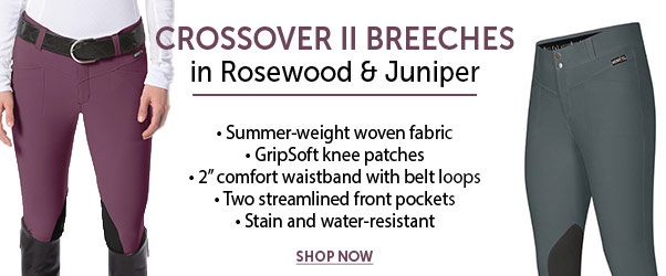 Kerrits, Exclusive, Breeches, Knee Patch, Crossover