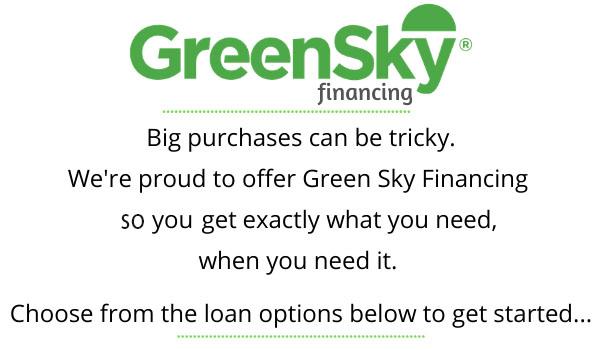 GreenSky Financing at Mary's Tack & Feed