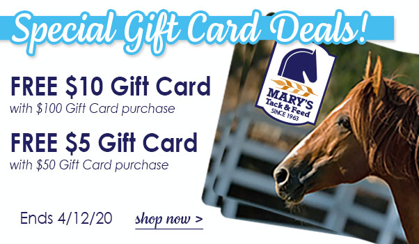 Mary's Special Gift Card Deals!
