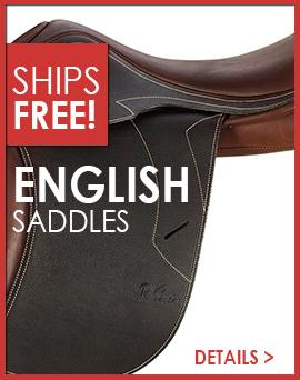 English Saddles Ship Free