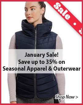 Sale on Seasonal Apparel & Outerwear