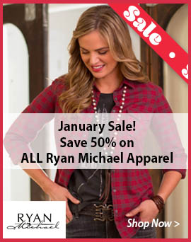 Sale on Ryan Michael Apparel
