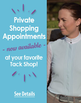 Private Shopping Appointments Now Available - See Details