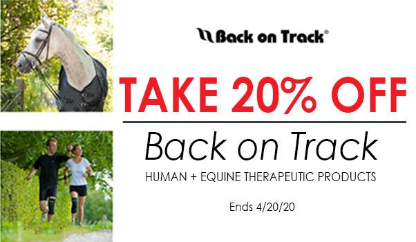 20% OFF on Back on Track!