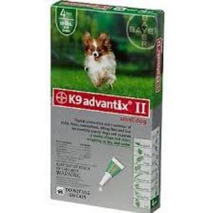 K9 Advantix Ii Small Dog Under 10 Lbs