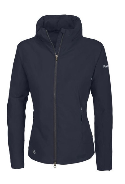 Pikeur Lara Sweat Hoody Ladies Long Sleeves Top Sweater Outerwear Navy