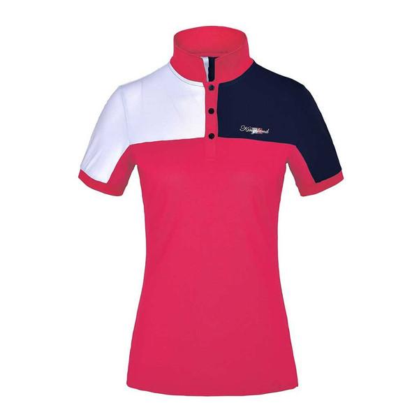 Kingsland Tec LS Pikee-Poloshirt für Damen KL/_CAMILLA  langarm Damenshirt