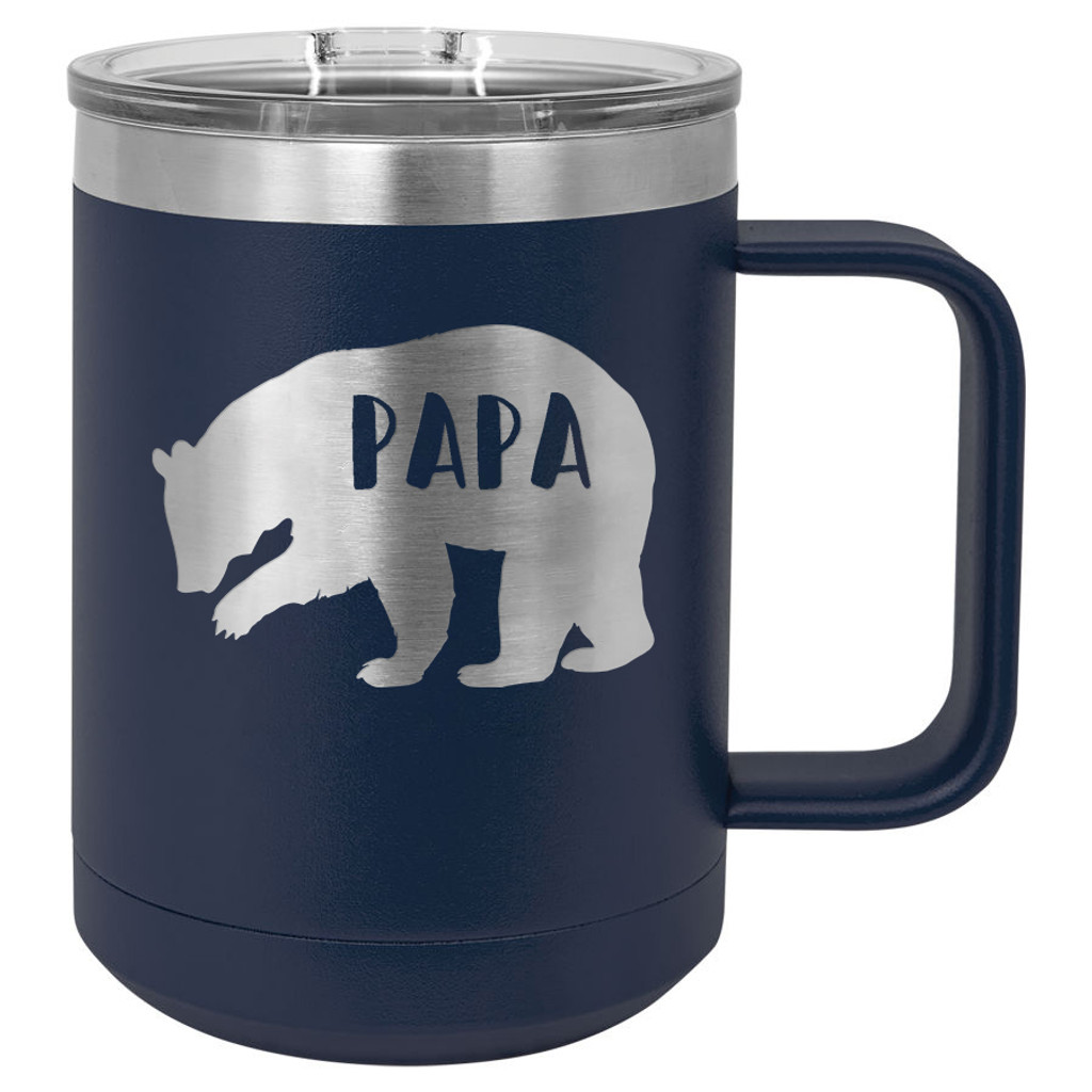 Papa Bear - 15 oz Coffee Mug