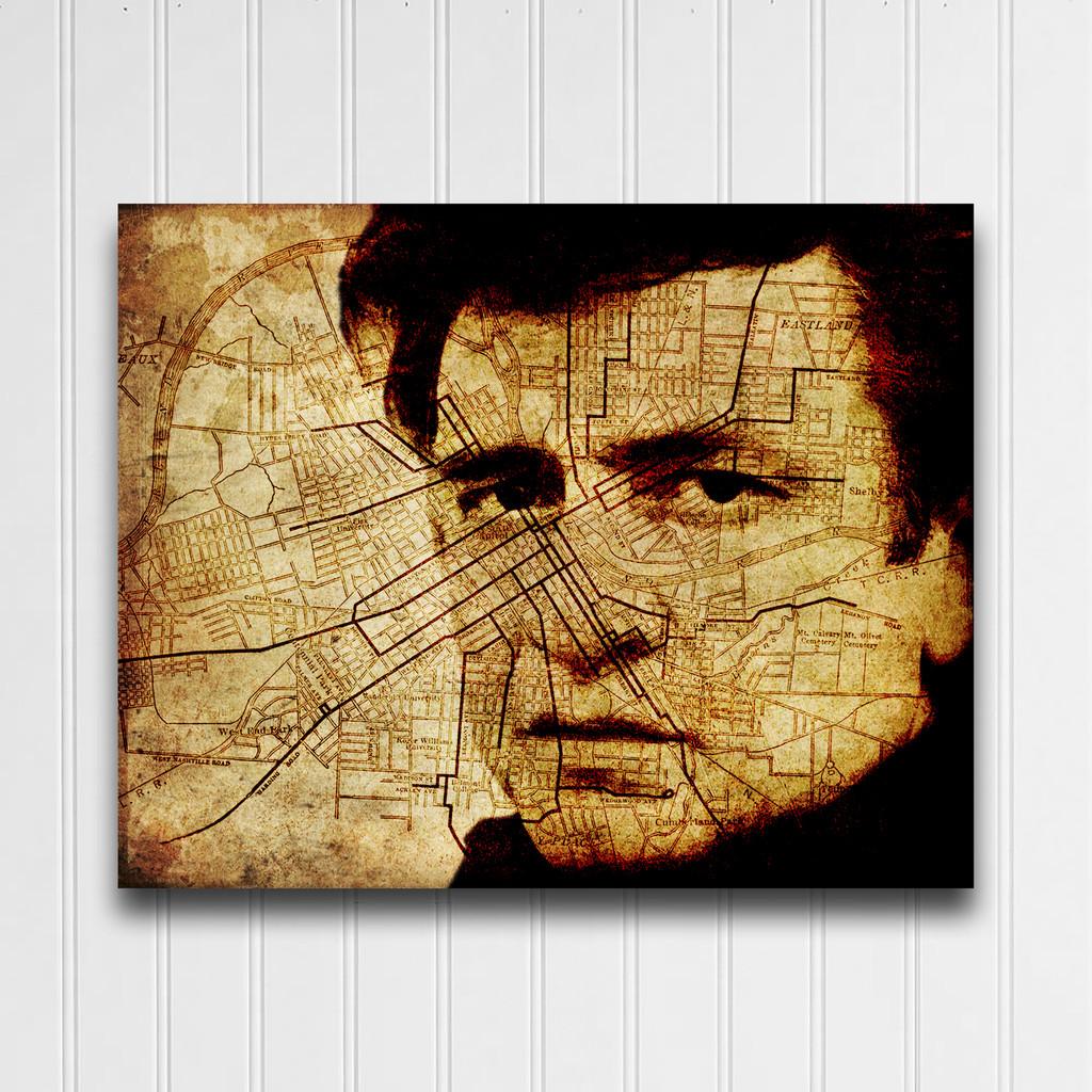 Cash on Nashville- Gallery Wrap